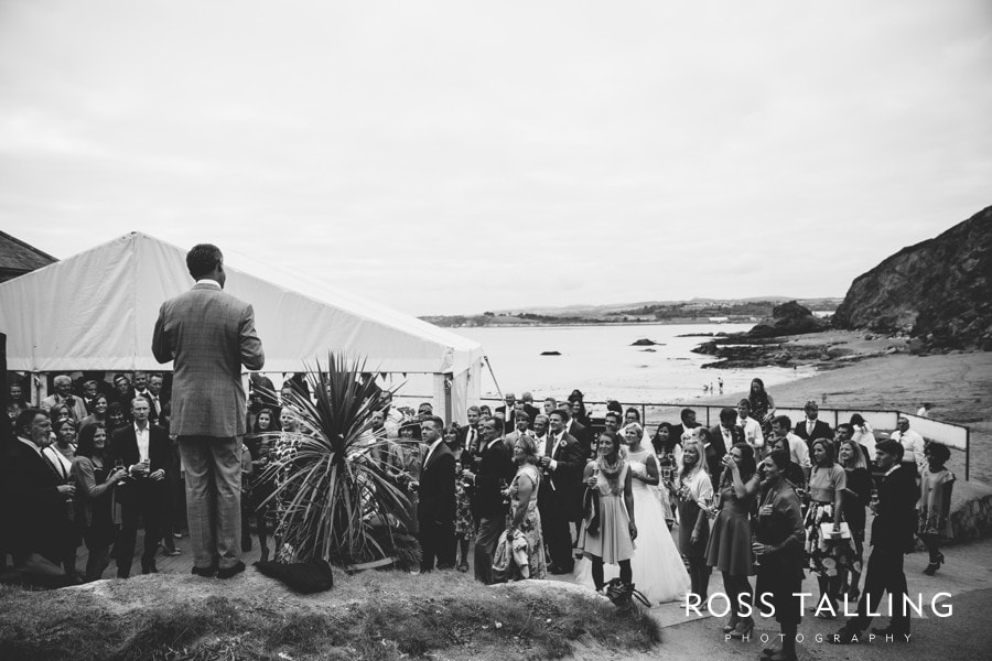 Wedding Photography Cornwall Polkerris Beach by Ross Talling Hollie & George_0075