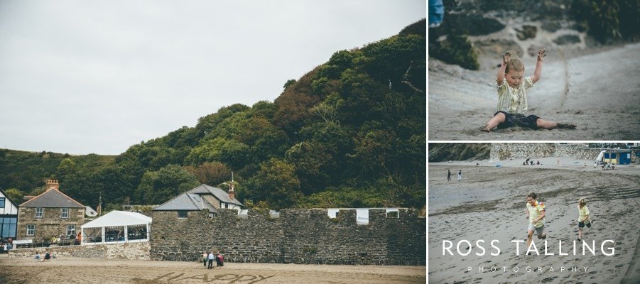 Wedding Photography Cornwall Polkerris Beach by Ross Talling Hollie & George_0073