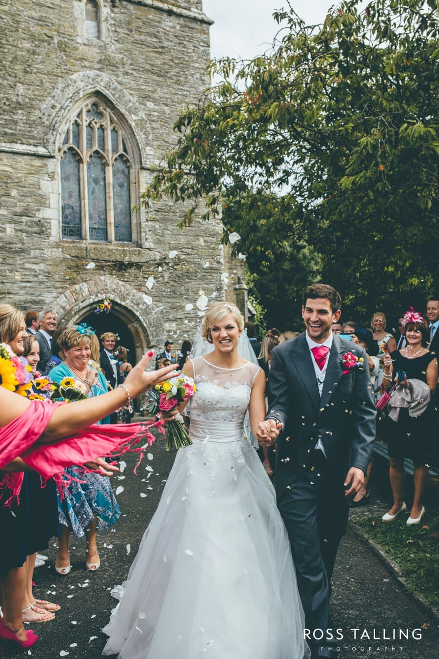 Wedding Photography Cornwall Polkerris Beach by Ross Talling Hollie & George_0062