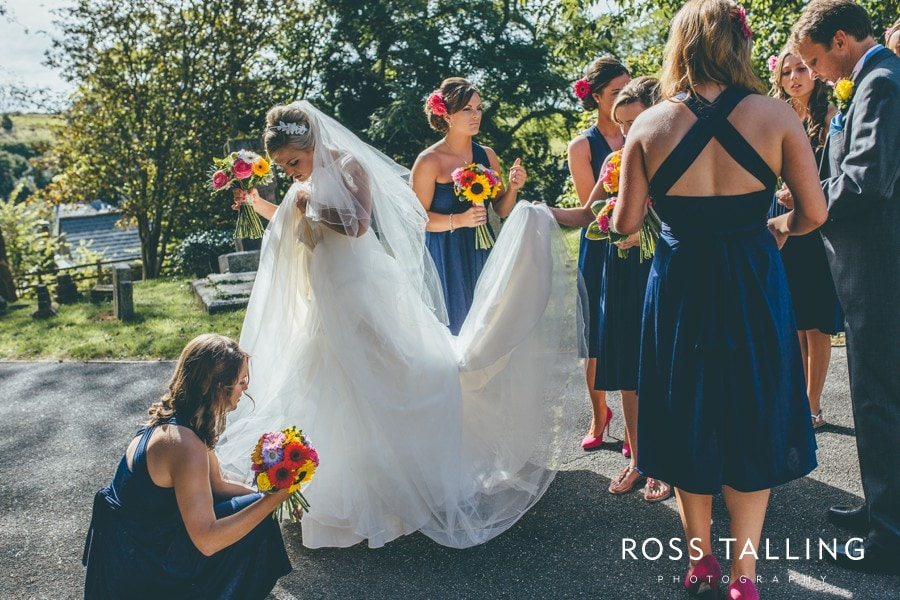 Wedding Photography Cornwall Polkerris Beach by Ross Talling Hollie & George_0031