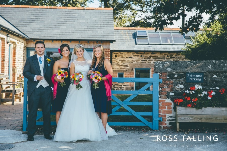 Wedding Photography Cornwall Polkerris Beach by Ross Talling Hollie & George_0028