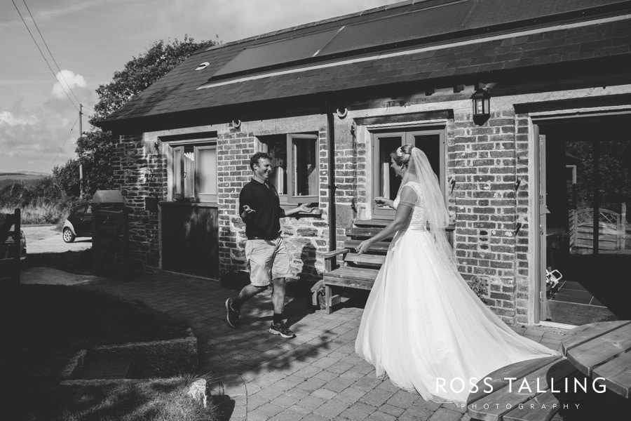 Wedding Photography Cornwall Polkerris Beach by Ross Talling Hollie & George_0020