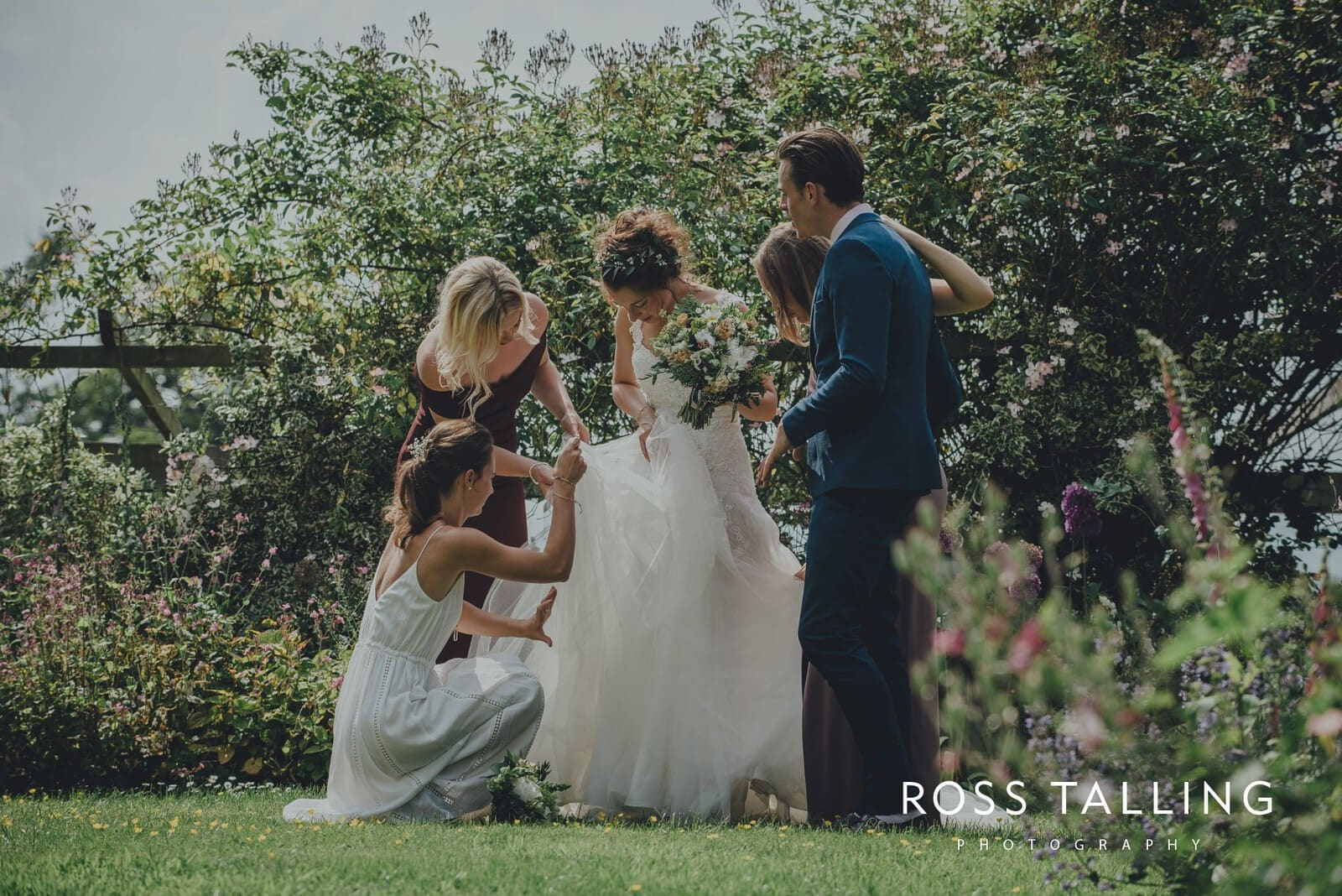 Dewsall Court Wedding Photography Hereford_0127