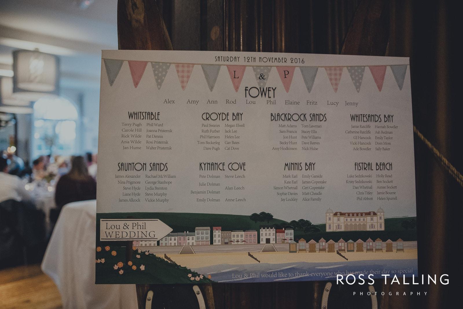 Fowey Hall Wedding Photography Cornwall-166