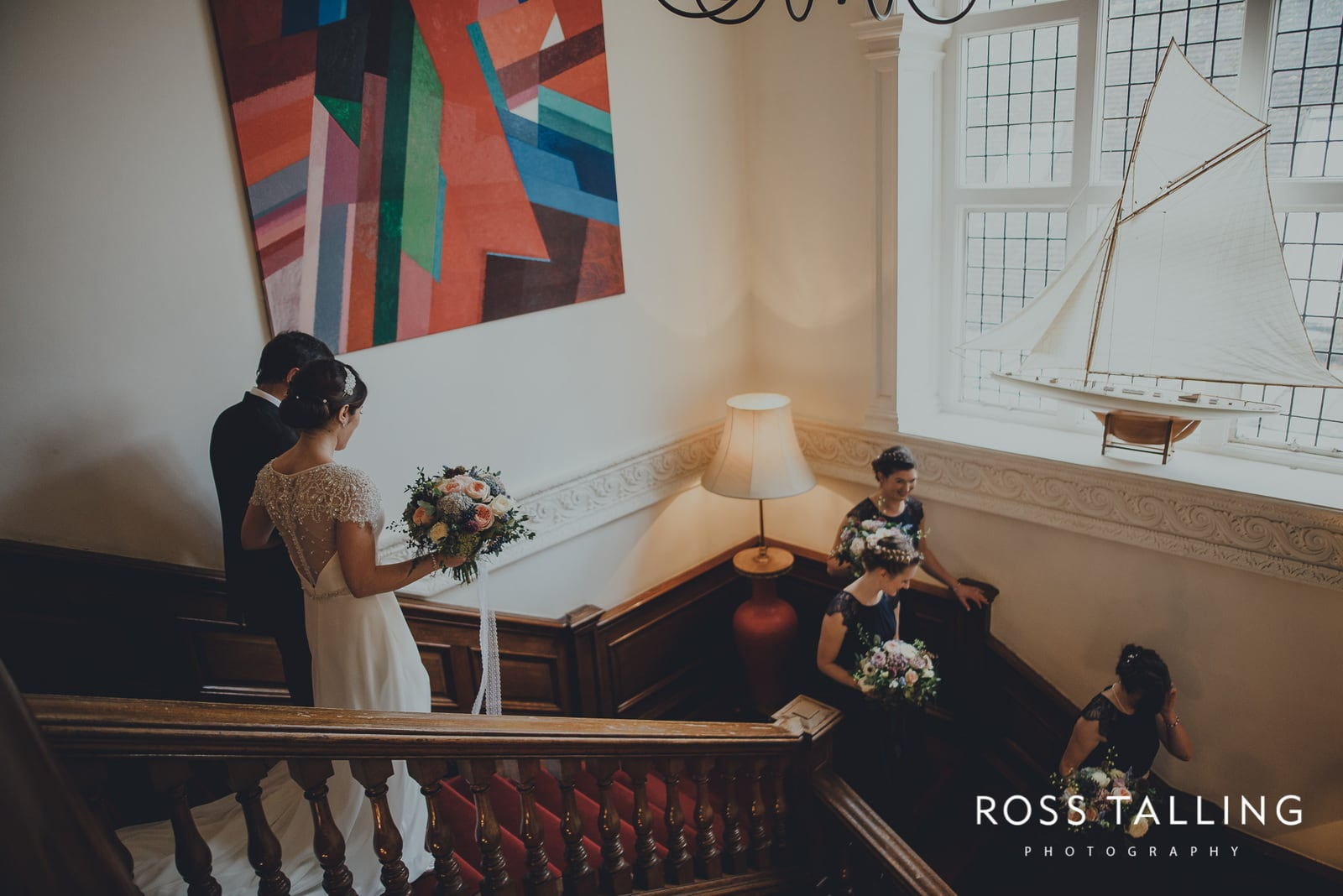 Fowey Hall Wedding Photography Cornwall-41