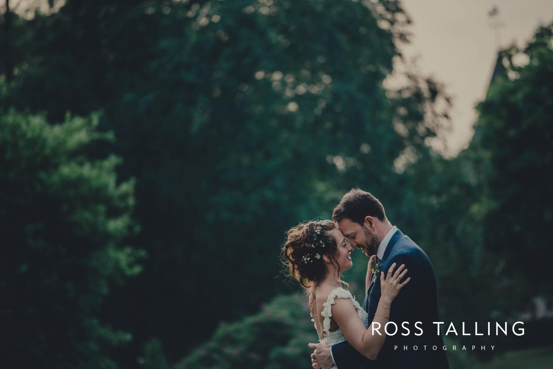 Wedding couple photography at Dewsall Court in Hereford