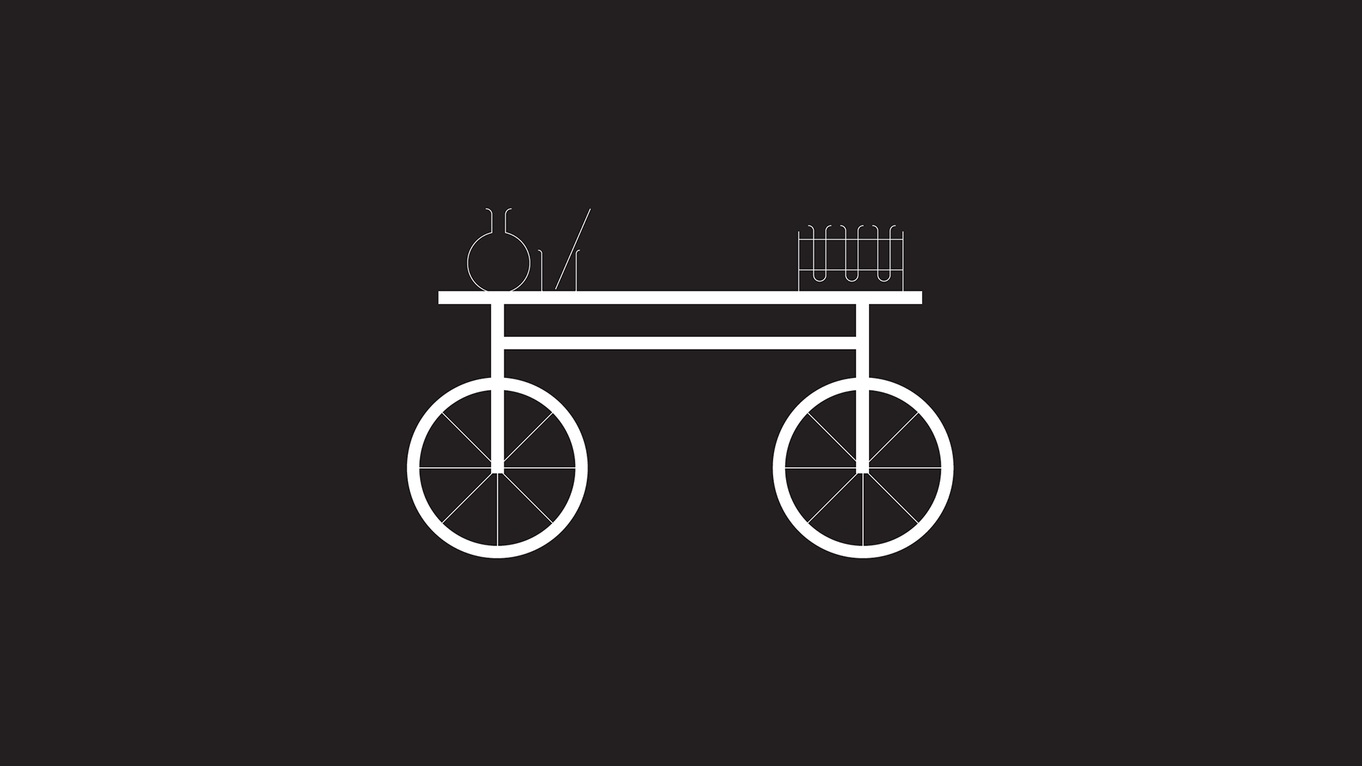 From bench to bicycle