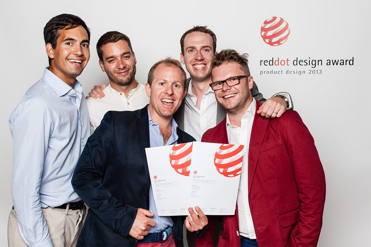 Aerosure Red Dot Design Award winner