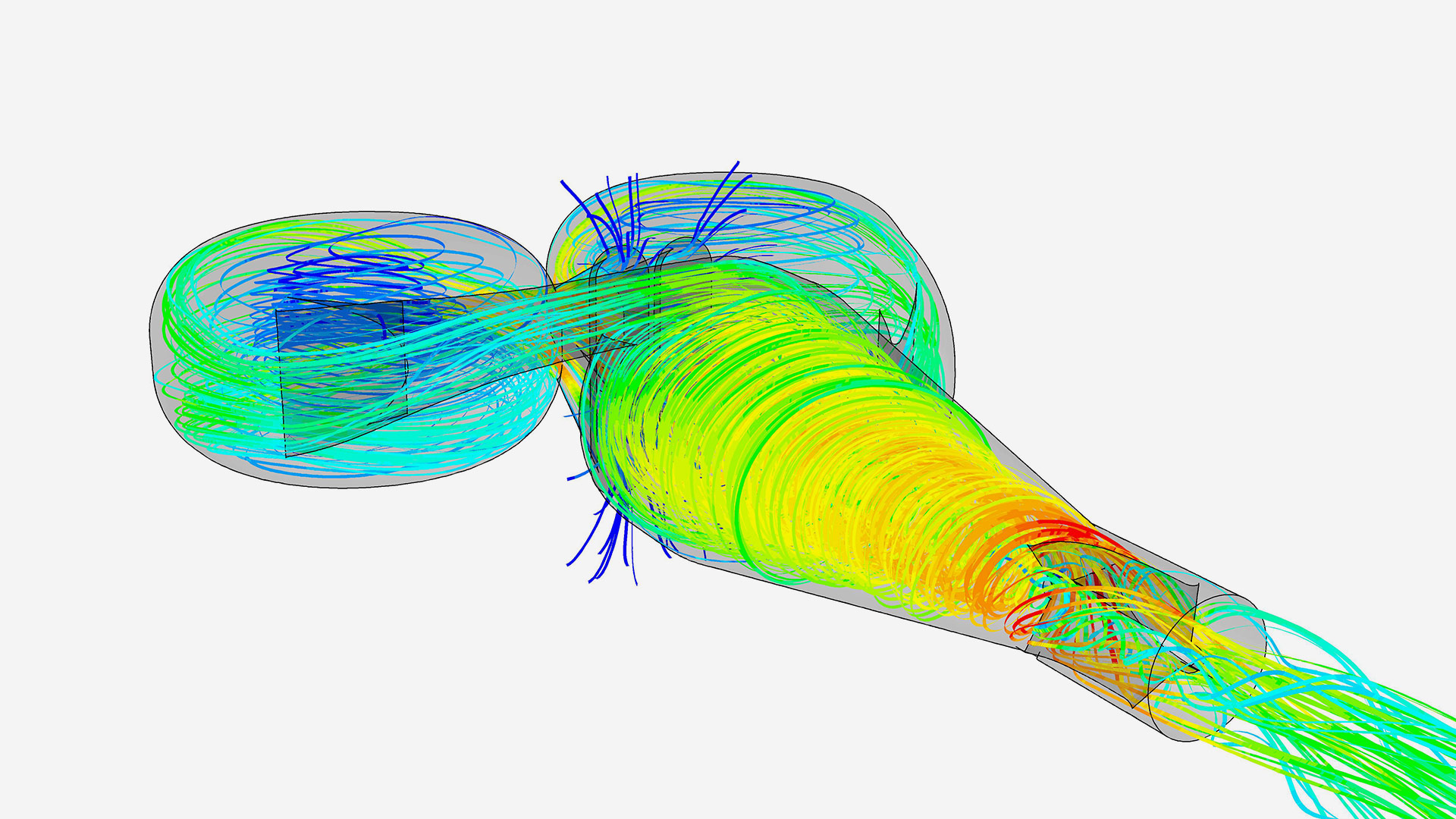 Airflow simulation testing using CFD