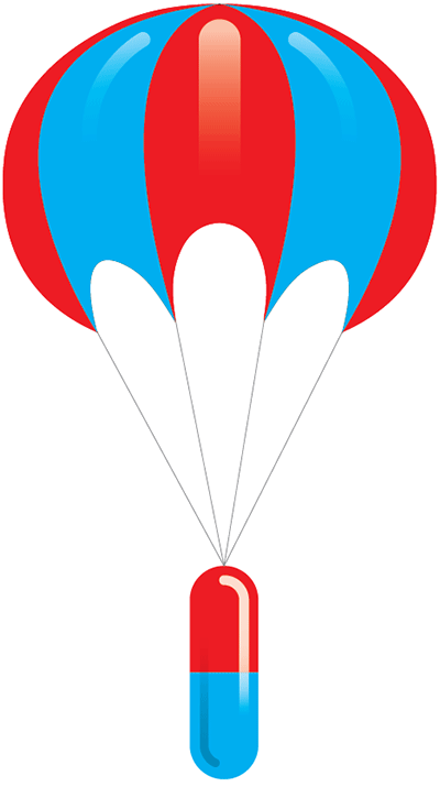 safety-after-launch-parachute-capsule