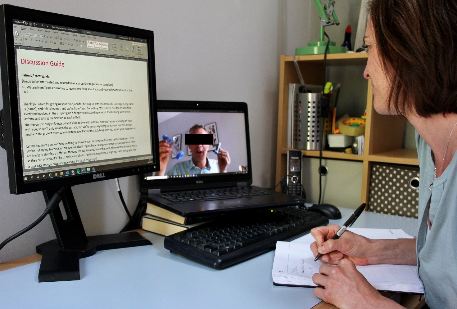 medical device innovation taking place remotely