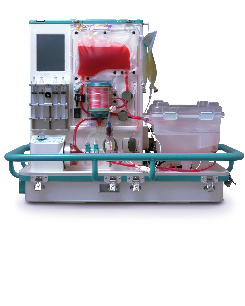 The OrganOx automated liver perfusion device