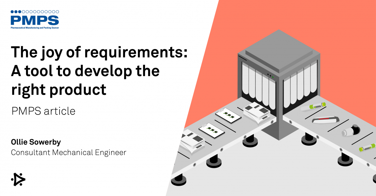 The joy of requirements, a tool to develop the right product