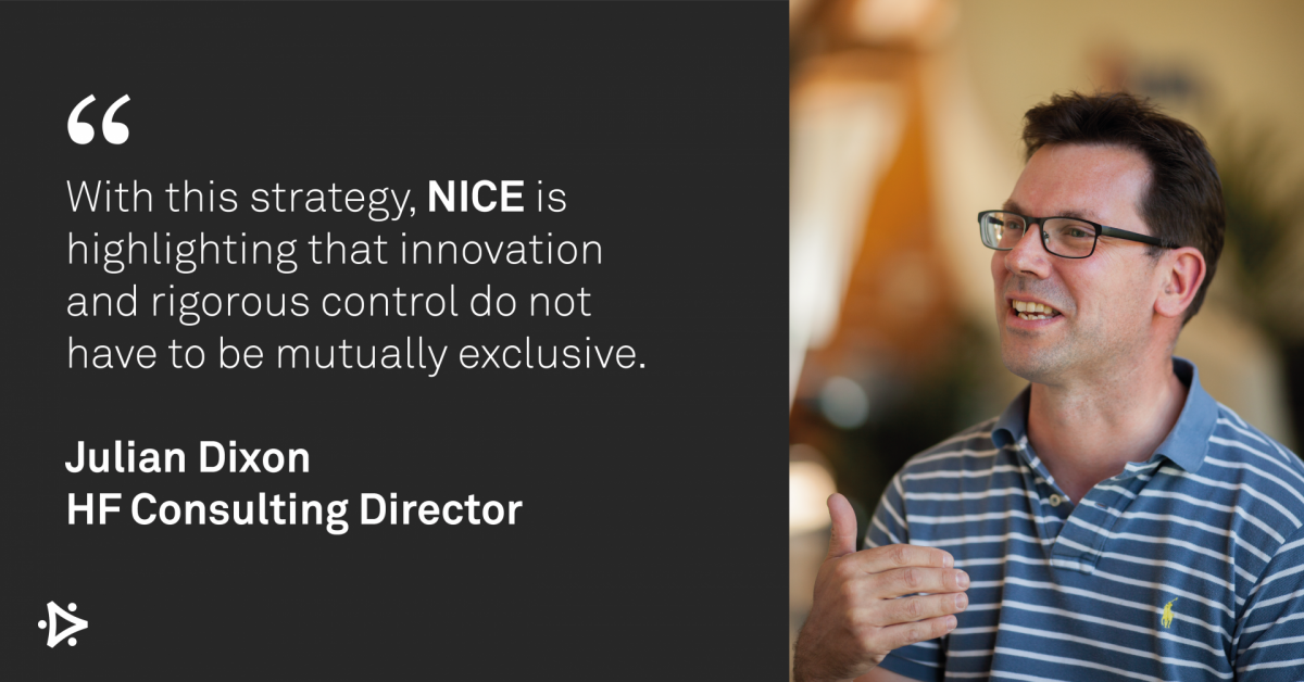 With this strategy, NICE is highlighting that innovation and rigorous control do not have to be mutually exclusive.
