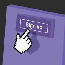 Signing up to the event algorithm