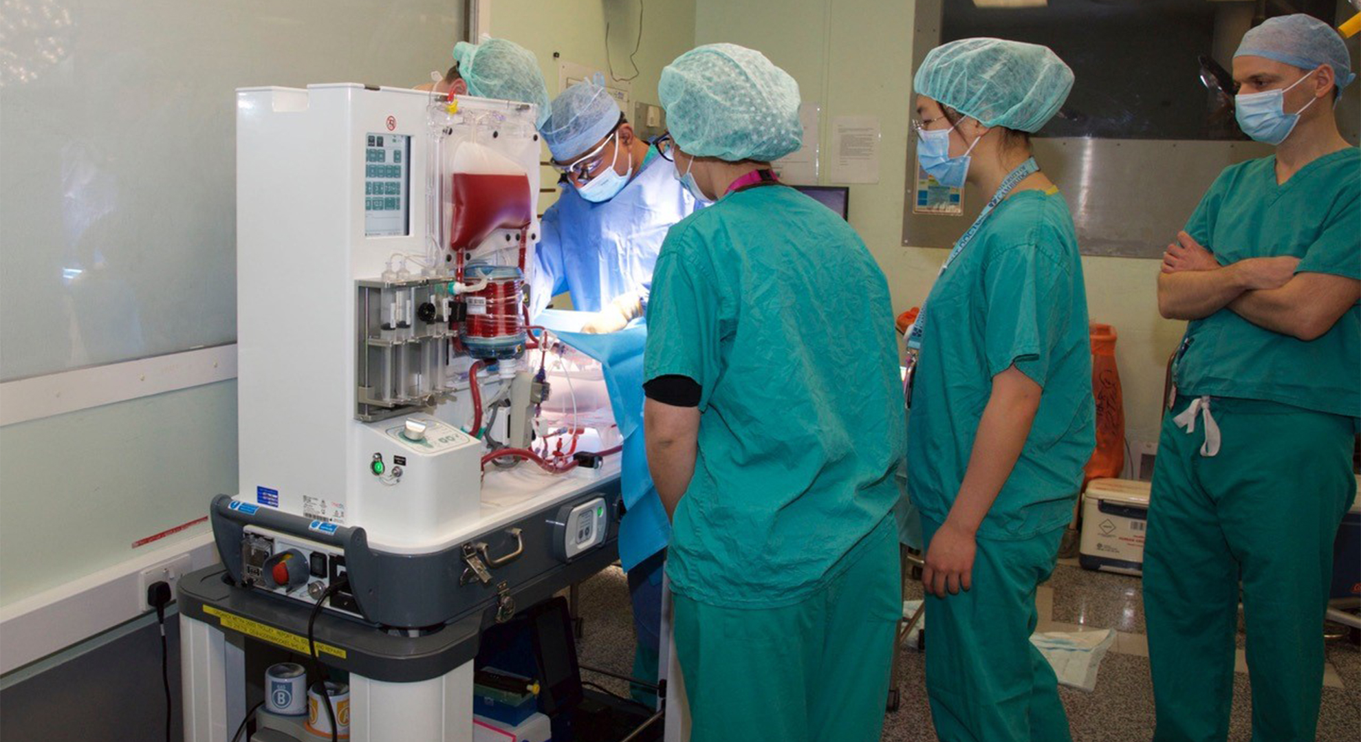 Bespoke trolley for liver perfusion device