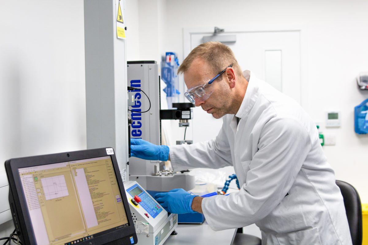 Technician testing device
