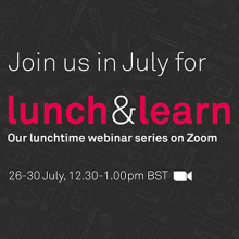 Join our new <br/> Lunch&Learn webinars!