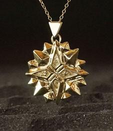 Telos Magic The Exaltation Talisman Gold Sand View1