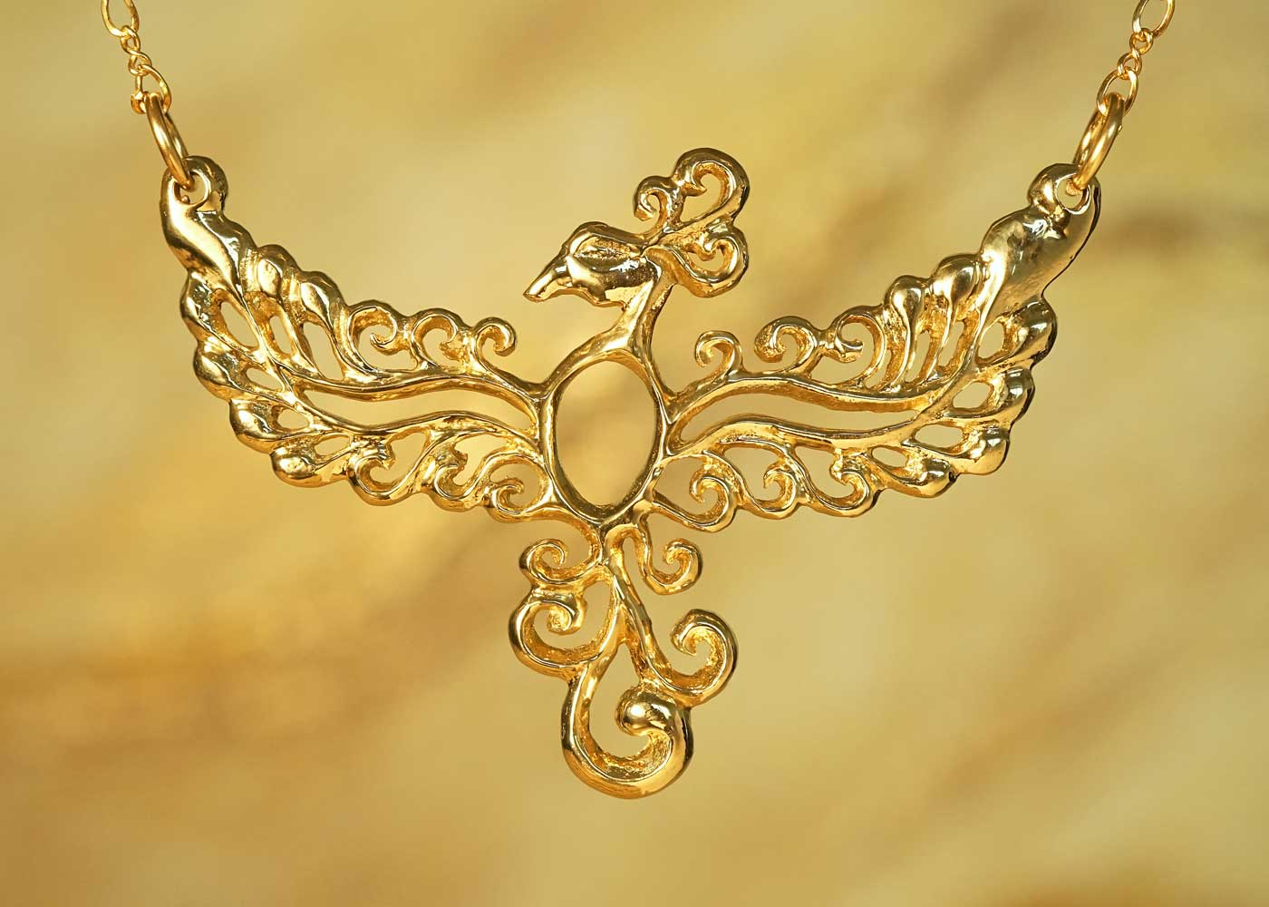 Telos Magic Phoenix Gold Front