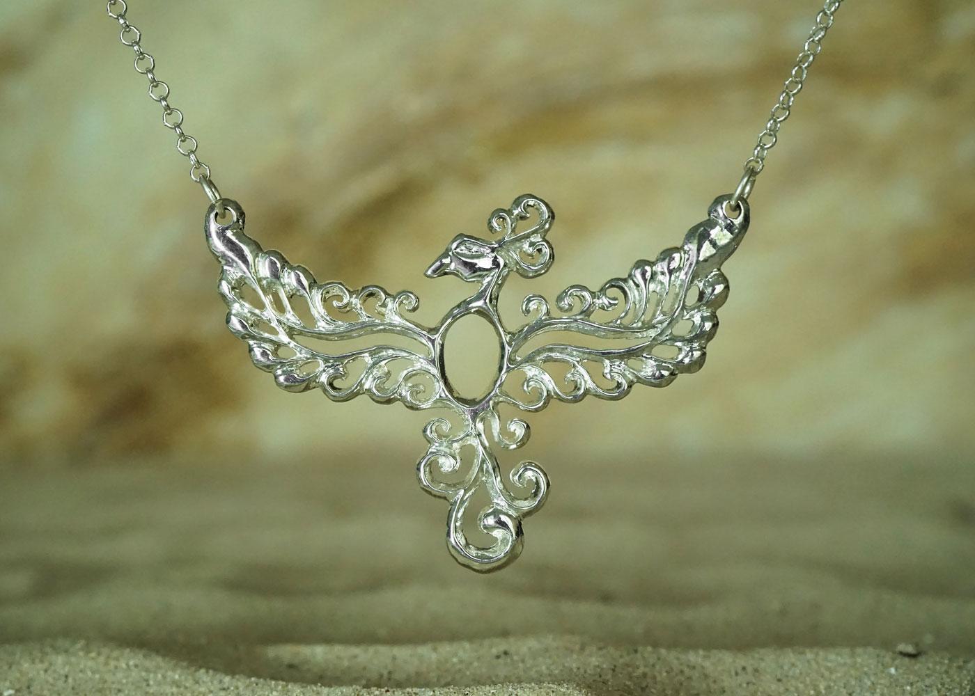 Telos Magic Phoenix Silver Frond Sand