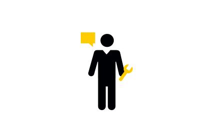 The AA Careers Multitask Icon