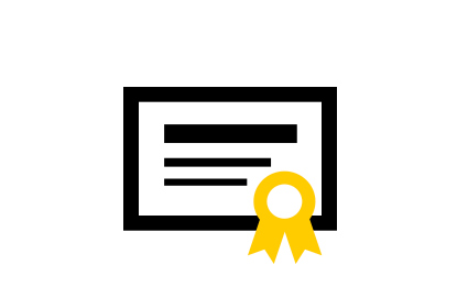 The AA Careers Qualification Icon