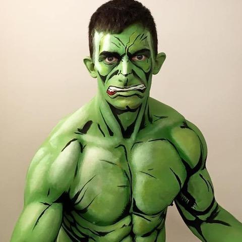 KOSTAMUA: @aaronandrewf as the Hulk