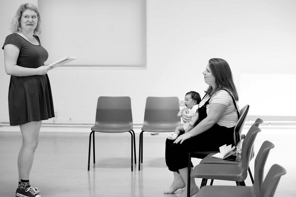 Mothers Who Make: Nicky Diss and her daughter, director. Photo credit: lhphotoshots