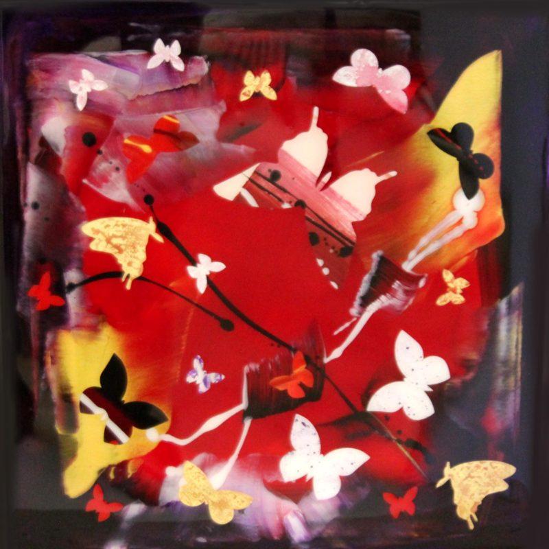set me free butterfly painting paresh nrshinga