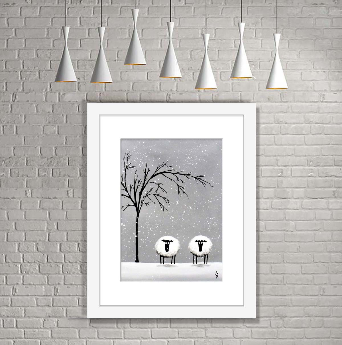 White Company (Ready Framed) Limited Edition Print | Art ...