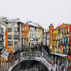 Venice painting acrylics on canvas