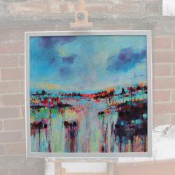 Winter Walk (Framed) by michelle gibbs