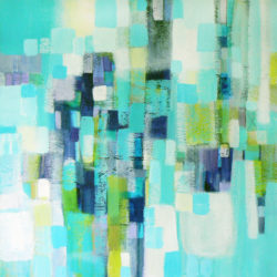geometric abstract art by artist carolynne coulson
