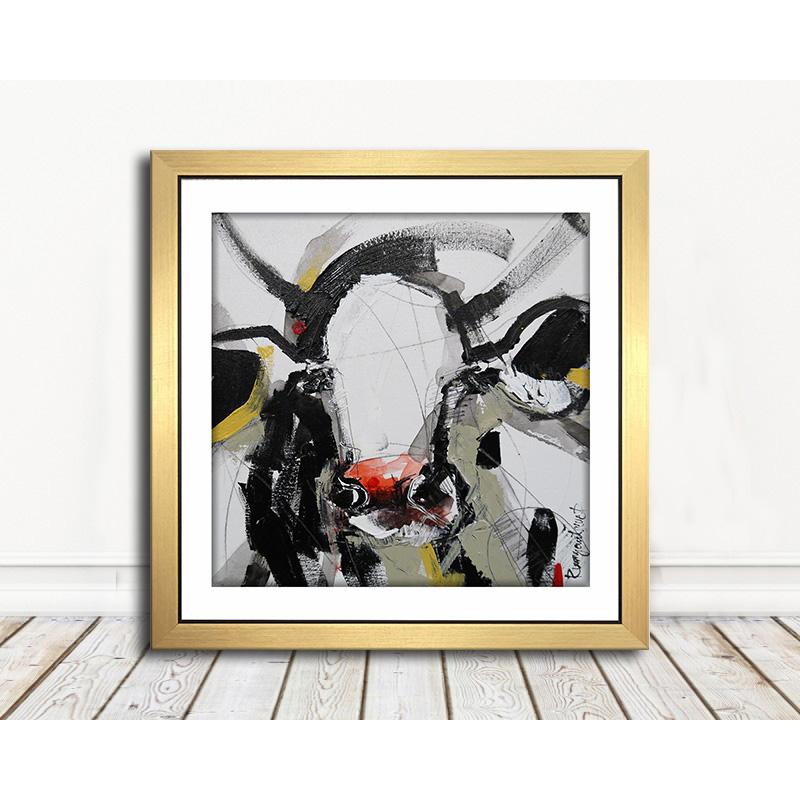 Curious Cow 4 | Art | Rippingham Art