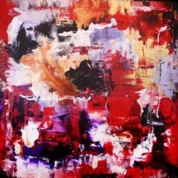 floeting world extra large painting paresh nrshinga
