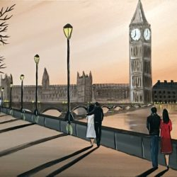 river thames painting for sale