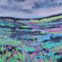 So Much Colour in the Land (Framed) y michelle gibbs