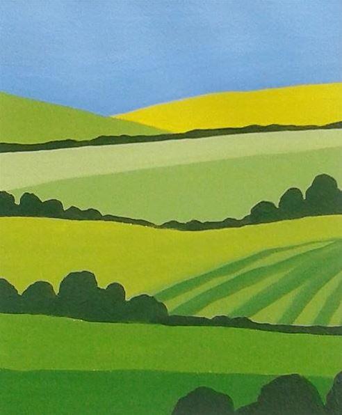 surrey landscape painting