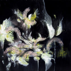 dramatic painting coral exposure by alison johnson