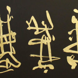 calligraphy paresh nrshinga