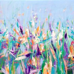 Spring Meadow by michelle carolan