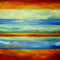 New Horizons by artist Gill Luff