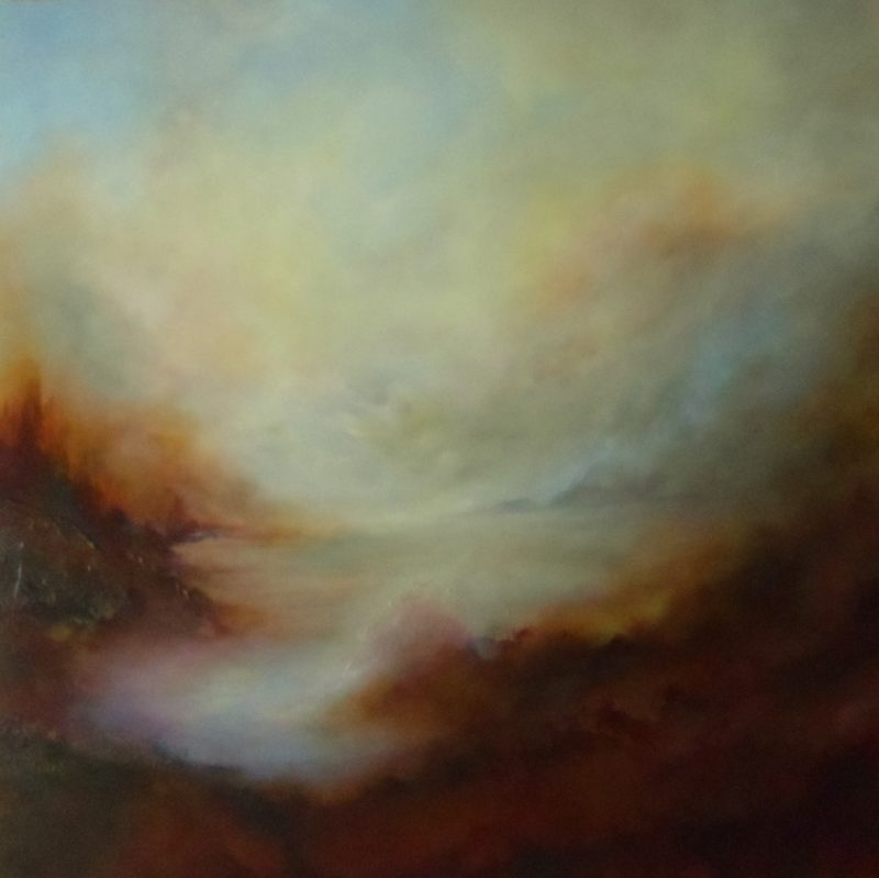 The Awakening By Gill Luff. large canvas ready to hang
