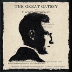 great gatsby inspired artwork