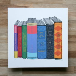 harry potter literary art print for sale