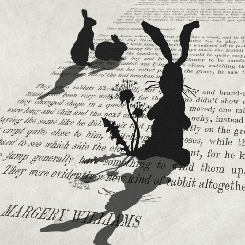 velveteen rabbit print by peter walters