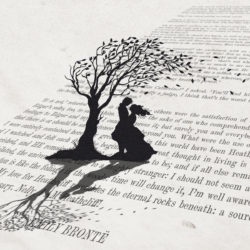 print inspired by wuthering heights
