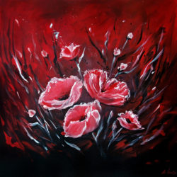 Red Poppy Painitng