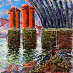 blackfriars bridge painting london